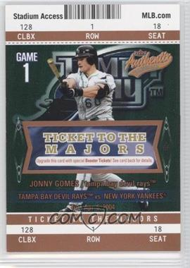 2004 Fleer Authentix Club Box #118 - Jonny Gomes /25