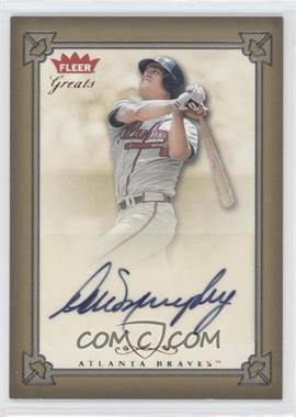 2004 Fleer Greats of the Game - Autographs #GBA-DM - Dale Murphy