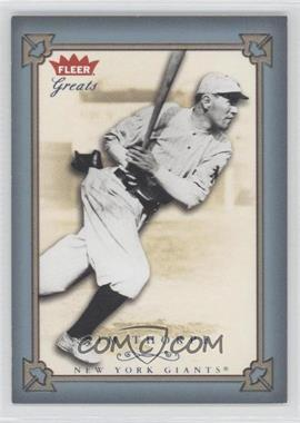 2004 Fleer Greats of the Game - [Base] - Blue Non-Numbered #109 - Jim Thorpe
