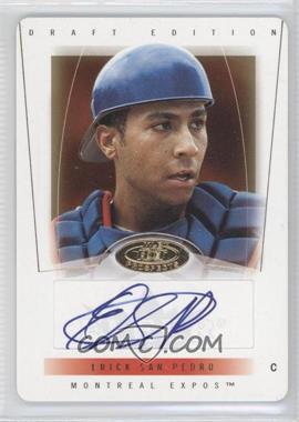 2004 Fleer Hot Prospects Draft Edition - [Base] - Die-Cut #106 - Erick San Pedro