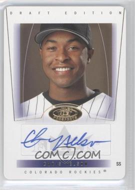 2004 Fleer Hot Prospects Draft Edition - [Base] - Die-Cut #81 - Chris Nelson