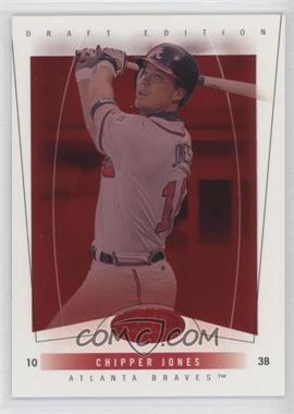 2004 Fleer Hot Prospects Draft Edition - [Base] - Red Hot #31 - Chipper Jones /150