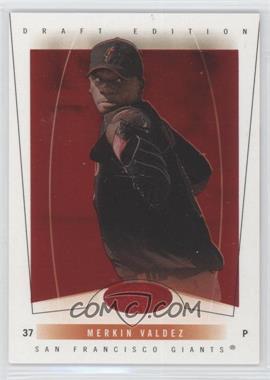 2004 Fleer Hot Prospects Draft Edition - [Base] - Red Hot #65 - Merkin Valdez /150