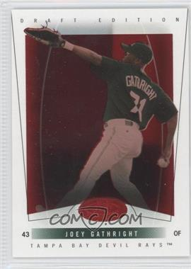 2004 Fleer Hot Prospects Draft Edition - [Base] - Red Hot #67 - Joey Gathright /150
