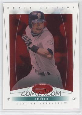 2004 Fleer Hot Prospects Draft Edition Red Hot #42 - Ichiro Suzuki /150