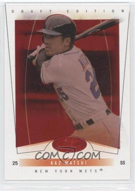 2004 Fleer Hot Prospects Draft Edition Red Hot #61 - Kazuo Matsui /150