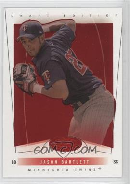 2004 Fleer Hot Prospects Draft Edition Red Hot #62 - Jason Bartlett /150