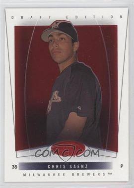 2004 Fleer Hot Prospects Draft Edition Red Hot #64 - Chris Saenz /150