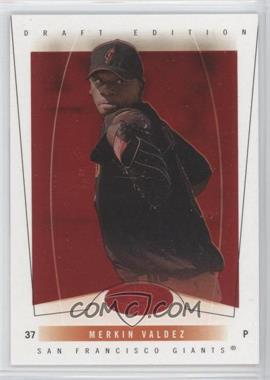2004 Fleer Hot Prospects Draft Edition Red Hot #65 - Merkin Valdez /150