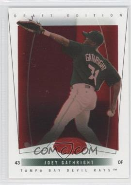 2004 Fleer Hot Prospects Draft Edition Red Hot #67 - Joey Gathright /150