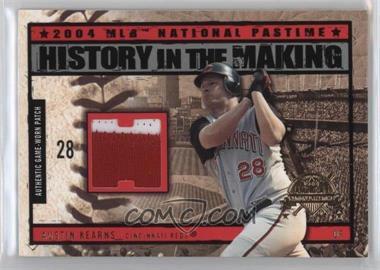 2004 Fleer National Pastime - History in the Making - Patch [Memorabilia] #HM-AK - Austin Kearns
