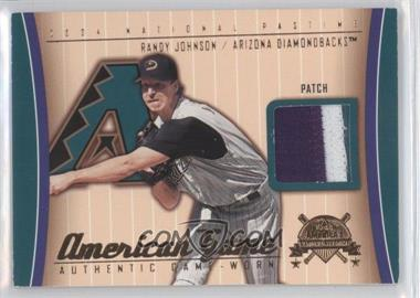 2004 Fleer National Pastime American Game Patch [Memorabilia] #AG-RJO - Randy Johnson