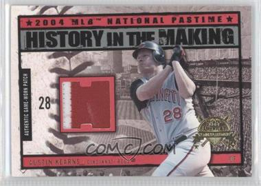 2004 Fleer National Pastime History in the Making Patch [Memorabilia] #HM-AK - Austin Kearns