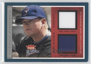 2004 Fleer Platinum [???] #CLUB-HB - Hank Blalock /50