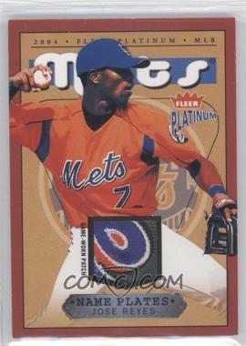 2004 Fleer Platinum [???] #NPN/JR - Jose Reyes /310