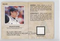 Brandon Webb /250