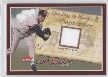 2004 Fleer Tradition - [???] #TDH-GM - Greg Maddux