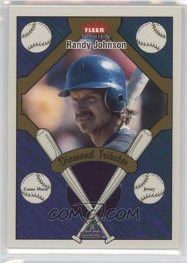 2004 Fleer Tradition - Diamond Tributes - Jerseys #DT-RJ - Randy Johnson