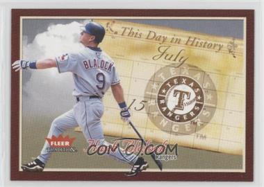 2004 Fleer Tradition [???] #15TDH - Hank Blalock