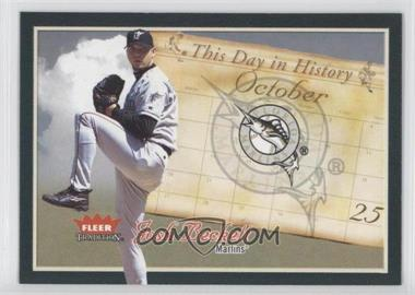 2004 Fleer Tradition [???] #1TDH - Josh Beckett