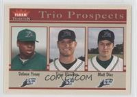 Delmon Young, Doug Waechter, Matt Diaz
