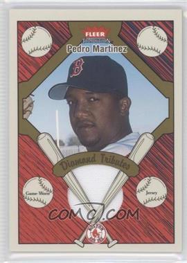 2004 Fleer Tradition Diamond Tributes Jerseys #DT-PM - Pedro Martinez