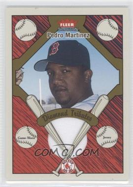 2004 Fleer Tradition Diamond Tributes Jerseys #DT-PM - Pedro Martinez