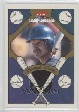 2004 Fleer Tradition Diamond Tributes Jerseys #DT-RJ - Randy Johnson