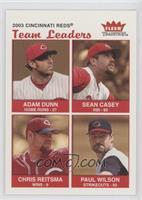 Adam Dunn, Sean Casey, Chris Reitsma, Paul Wilson