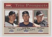 Garrett Atkins, Clint Barmes, Javier Lopez
