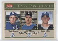 David DeJesus, Jason Gilfillan, Jimmy Gobble