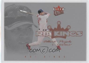 2004 Fleer Ultra - RBI Kings #2RK - Albert Pujols