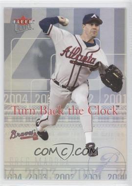 2004 Fleer Ultra - Turn Back the Clock #17 TBC - Greg Maddux