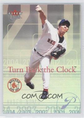 2004 Fleer Ultra - Turn Back the Clock #18 TBC - Hideo Nomo