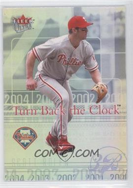 2004 Fleer Ultra - Turn Back the Clock #8 TBC - Scott Rolen