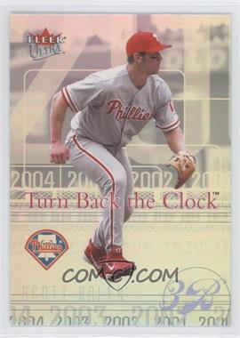 2004 Fleer Ultra [???] #8TBC - Scott Rolen