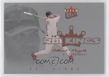 2004 Fleer Ultra RBI Kings #2RK - Albert Pujols