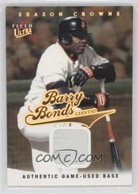 2004 Fleer Ultra Season Crowns Gold Relics [Memorabilia] #95 - Barry Bonds /99