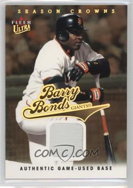 2004 Fleer Ultra Season Crowns Gold Relics [Memorabilia] #95 - Barry Bonds /99