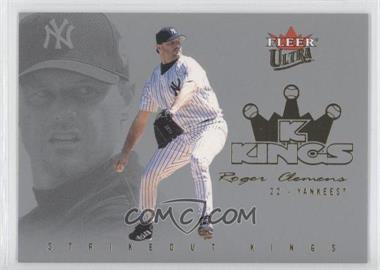 2004 Fleer Ultra Strikeout Kings Gold Medalion #4SK - Roger Clemens /50