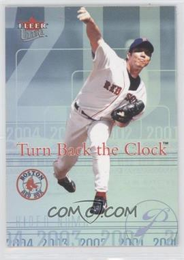 2004 Fleer Ultra Turn Back the Clock #18 TBC - Hideo Nomo