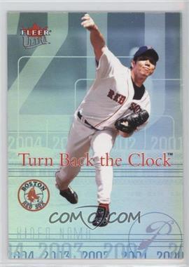 2004 Fleer Ultra Turn Back the Clock #18 TBC - Hideo Nomo
