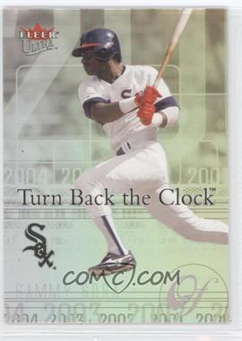 2004 Fleer Ultra Turn Back the Clock #20 TBC - Sammy Sosa