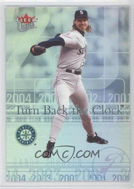 2004 Fleer Ultra Turn Back the Clock #3 TBC - Randy Johnson
