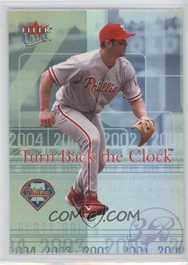 2004 Fleer Ultra Turn Back the Clock #8 TBC - Scott Rolen