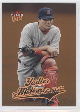 2004 Fleer Ultra #375 - Yadier Molina