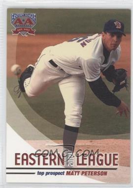 2004 Grandstand Eastern League Top Prospects - [Base] #MAPE - Matt Peterson