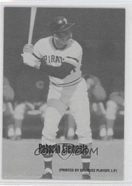 2004 Leaf - Exhibits - 1947-66 PDPSCR Printed by Donruss Playoff Print Name #41 - Roberto Clemente /66