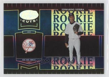 2004 Leaf Certified Cuts Marble Blue #263 - Eduardo Sierra /50