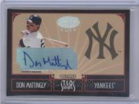 Don Mattingly /25